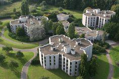 Student homes, ulg campus Liège, Belgium: