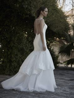 Mysecret Sposa Collezione Zaffiro Cod. 17112  #mysecretsposa #sposa #collezionesposa #abitidasposa #wedding #weddingdress #bride #abitobianco