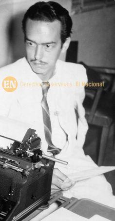 Aquiles Nazoa, poeta y periodista venezolano, su obra proyecta los valores de la cultura popular. (ARCHIVO EL NACIONAL)