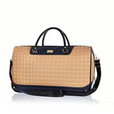 Bag yourself some arm candy with our new season collection of women's bags and purses. From suitcases, totes, satchels, clip top purses to cross-body bags. Cute Luggage, Luggage Bags, River Island Fashion, Satchel, Crossbody Bag, Womens Purses, Fashion Essentials, Square Quilt, Purses And Bags