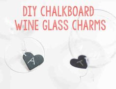 how to make wine glass charms