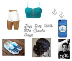 """lazy day with the omaha boys"" by mrs-skammy ❤ liked on Polyvore featuring Zulu & Zephyr, Gimmicks, FOSSIL and Casetify"