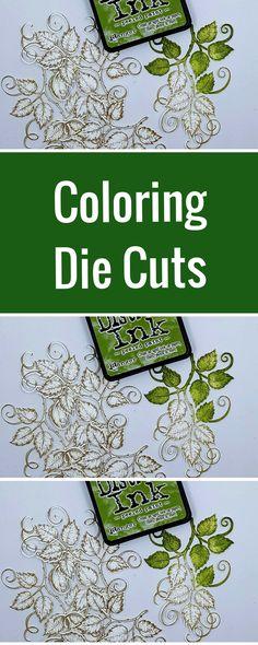 Card Making | Heartfelt Creations Dies and Stamps | Ranger Distress Ink | Designed by Karan Gerber | Creative Scrapbooker Magazine #diecuts #stamping #scrapbooking