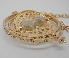 Harry Potter TIME TURNER necklace Pendant by fitzgeralddard, $3.20