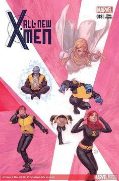 """astonishingx: """" X-Men through the decades by Julian Totino Tedesco """""""