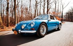 It's tough to get an appreciation for how tiny the Renault-Alpine A110 really is until you see it dwarfed by another small car -- like a Ferrari Dino 246 GT. Read on to learn more about the 1975 Renault-Alpine A110 Berlinette in this feature brought to you by the automotive experts at Motor Trend Classic.
