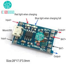 Lithium Battery Charger Protection Board Li-Ion Lipo Battery Charging Protect in 2019 Battery Charger Circuit, Lithium Battery Charger, Electronics Mini Projects, Electronics Basics, Basic Electrical Wiring, Electrical Projects, Electronic Circuit Design, Electronic Engineering, Circuit Board Design