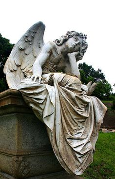 The Angel of the Night (1885) by Giulio Monteverde, Primo Zonca grave, Quadriportico, Verano Monumental Cemetery, Rome