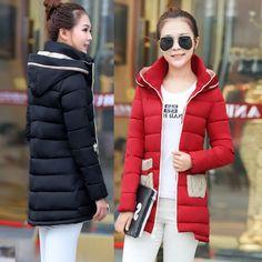 US $37.36 (Buy here - https://alitems.com/g/1e8d114494b01f4c715516525dc3e8/?i=5&ulp=https%3A%2F%2Fwww.aliexpress.com%2Fitem%2F2016-Girls-Down-Cotton-Long-Winter-New-Slim-Casual-Fashion-Thick-Cotton-Padded-Jacket-Winter-Jacket%2F32739926803.html) 2016 Girls Down Cotton Long Winter New Slim Casual Fashion Thick Cotton Padded Jacket Winter Jacket Women Down Coat