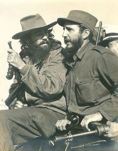 Luis Korda, Fidel Castro and Camilo Cienfuegos, Havana, Cuba, January 1959.
