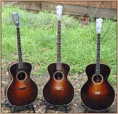 3 Gibson Style 1 Tenor Guitars