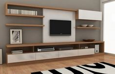 mdf laqueado rack lcd tv led modular le charp s. House Design, Living Room Tv Unit Designs, Home And Living, Room Design, Living Room Decor, Home, Living Room Tv, Living Room Tv Unit, Living Room Designs