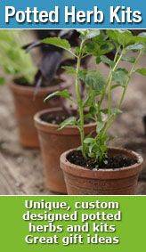 Our potted herb kits make great gifts! Click the link to view our selection of potted herb kits - http://www.thegrowers-exchange.com/Potted_Herbs_s/214.htm