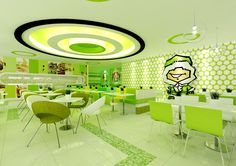 Ice Room Cafe on Behance