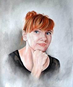 Custom pastel portrait perfect gift by DaGoART