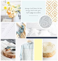 Wit's End inspiration board - Elle & Company