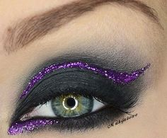 punk eye makeup with rhinestones - Google-søgning
