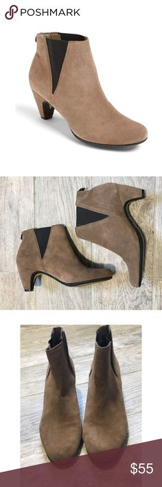 Sam Edelman Suede Morillo Bootie These booties are so chic and perfect for fall! In excellent pre-worn condition with no major flaws. 2.5 inch heel. Sam Edelman Shoes Ankle Boots & Booties