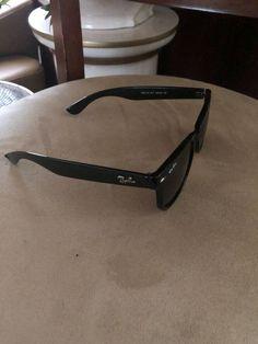 e12ee35321 Ray Ban Sunglasses Mens RB2132 Black Green Matte Wayfarer  fashion   clothing  shoes