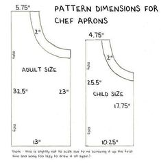 trendy sewing for beginners apron children Childrens Apron Pattern, Apron Pattern Free, Childrens Aprons, Sewing Patterns Free, Free Sewing, Child Apron Pattern, Vintage Apron Pattern, Pattern Sewing, Dress Patterns