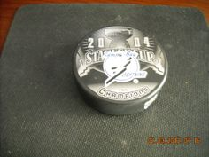 2004 Stanley Cup Champions Tampa Bay Lightning Officially Licensed Puck