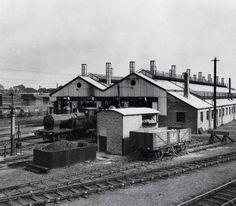 North Design, Steam Locomotive, Cardiff, South Wales, Sheds, Transportation, Scenery, Photographs, British