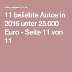 Beautiful  beliebte Autos in unter Euro Seite von