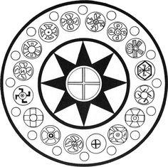 LEMURIA | Motherland Mu & cross symbols