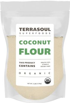 Terrasoul Superfoods Organic Coconut Flour, 3 Pounds
