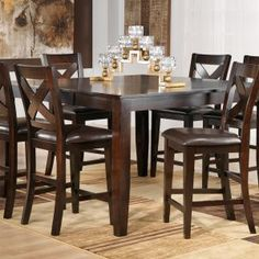 Dining Room Tables Pub Style Tall Bar High Table Sets