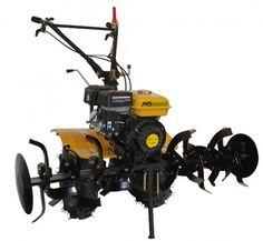 Carcasa reductor si transmisie din fonta Motor puternic de 7CP pentru eficienta sporita Cutie de viteze cu 2 trepte inainte si o treapta inapoi Filtrul de aer umed protejeaza motorul de praf Dotat cu roti 4.00 - 8 cu anvelopa de cauciuc cu profil agricol Transmisie cu cardan si grup conic Motosapa cu motor pe benzina de 7CP, echipata cu cutie mecanica de viteze cu pinioane. Are o latime de lucru reglabila 50-110cm, iar freza se poate segmenta in doua bucati; pe lateral se afla discurile de…