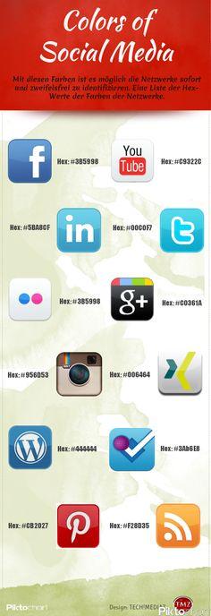 #Colors of #Social Media