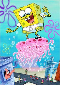 SpongeBob Jellyfish