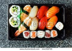 Japanese Lunch Box on the stone