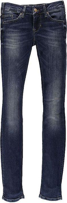 Junge, feminine 5-Pocket-Jeans mit eng verlaufendem Bein und niedriger Leibhöhe. Special Modern Stretch Denim: 98 % Baumwolle, 2 % Elasthan....
