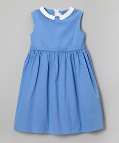 Capri Blue A-Line Dress - Toddler & Girls by Love, Auntie