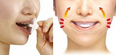 Face Upper anti-aging mouthpiece Beauty anti-wrinkle muscle sag care