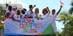 EN VIVO: Arranca la caravana de los olímpicos...