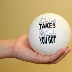Motivational Mini Volleyball