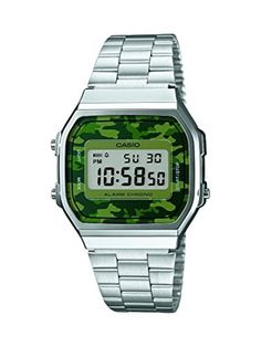 Watch Casio Collection A168wec-3ef Unisex Multicolour by Retro -- Awesome products selected by Anna Churchill