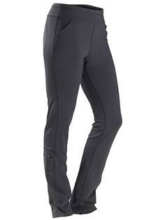Women't Everday Pant- Marmot- Black and Grey- casual/hike/work water resistant pant.