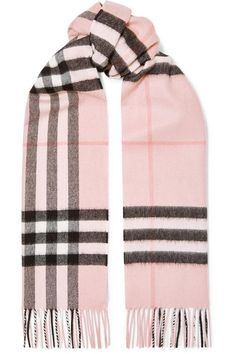 Burberry Women's Medium Giant Reversible Tote in Canvas and Leather Pink – The Fashion Mart Classic Trench Coat, Bags Online Shopping, Burberry Handbags, Burberry Bags, Pink Scarves, Burberry Women, Plaid Scarf, Scarf Wrap, Cashmere