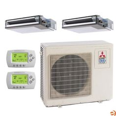 MXZ-2B20NA-1 + (2)SEZ-KD09NA4.TH Dual Zone Concealed Duct Heat Pump M by Mitsubishi. $3295.95. Mitsubishi MXZ-2B20NA-1 + (2)SEZ-KD09NA4.TH Dual Zone Concealed Duct Heat Pump Mini Split System - 18,000 BTU Mitsubishi's Mini-Split systems are some of the highest quality split style air conditioners on the market. Well renowned for incredible efficiency and reliability, the new Mr. Slim line of Mitsubishi Mini Splits represents the pinnacle of modern Mini-Split tec...