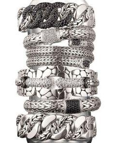 -32FD John Hardy Signature Collection Bracelets