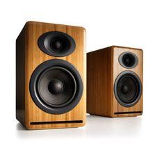 Audioengine: P4 Passive Bookshelf Speakers - Bamboo (AP4N)