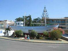 Nerja. Barco de Chanquete, en Verano Azul...