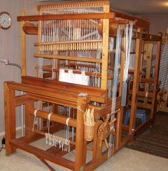 60 Shaft Drawloom with extension