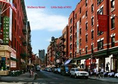 Little Italy,  Mulberry St. N.Y.