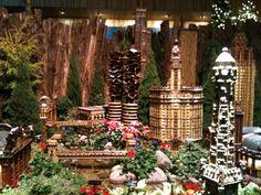 "Chicago Botanical Gardens ""Wonderland Express"
