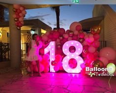 tall Light Up Numbers available for hire 15th Birthday Decorations, 18th Birthday Party Ideas For Girls, Sweet 16 Party Decorations, Quince Decorations, Gold Birthday Party, Birthday Balloons, Birthday Bash, Birthday Goals, Numbers